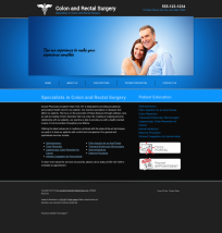 Colon & Rectal Surgery Website Thumbnail #3