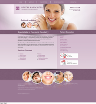 Cosmetic Dentistry Website Thumbnail #14