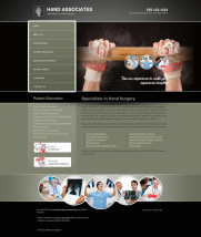 Hand Surgery Website Thumbnail #1