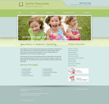 Pediatric Dentistry Website Thumbnail #6
