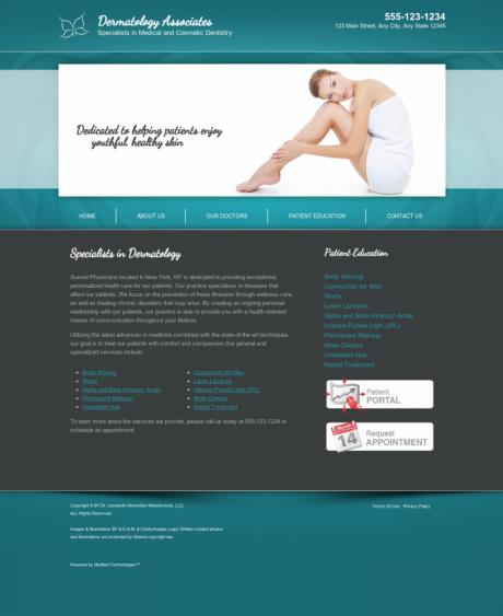 Dermatology Website Preview #18