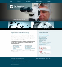 Ophthalmology Website Thumbnail #7