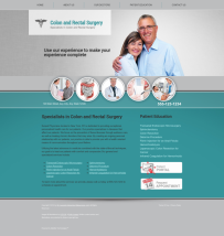 Colon & Rectal Surgery Website Thumbnail #1
