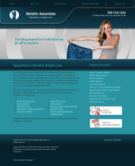 Bariatric Surgery Website Preview #3