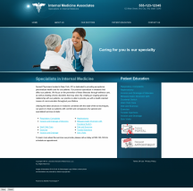 Internal Medicine Website Thumbnail #4