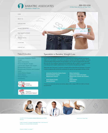 Bariatric Surgery Website Preview #4