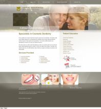 Cosmetic Dentistry Website Thumbnail #2