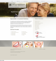 Cosmetic Dentistry Website Thumbnail #3