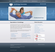 Cardiovascular Website Thumbnail #6