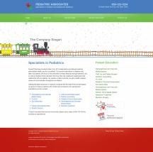 Pediatrics Website Thumbnail #4