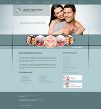 Orthodontics Website Thumbnail #4