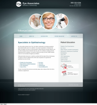 Ophthalmology Website Thumbnail #10