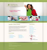 Pediatric Dentistry Website Thumbnail #2