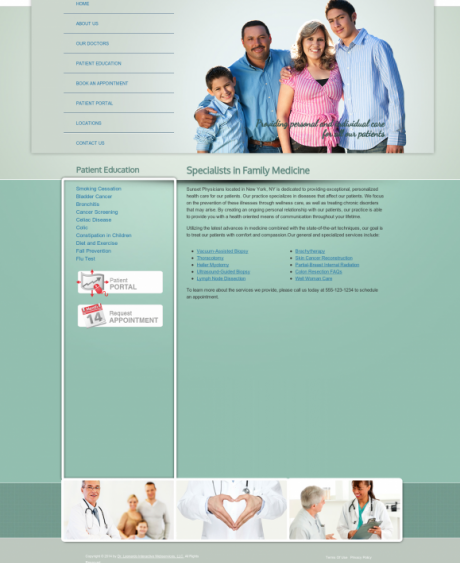Family Medicine Website Preview #18
