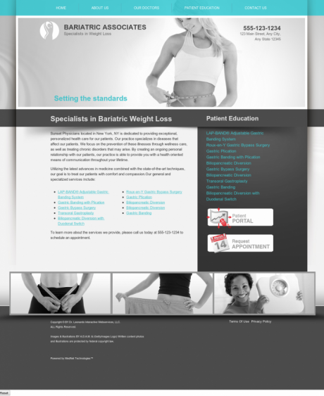 Bariatric Surgery Website Preview #6