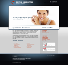 Periodontics Website Thumbnail #2