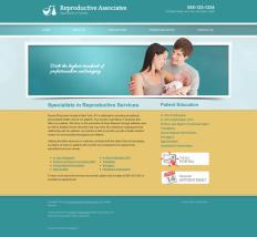 Reproductive Services Website Thumbnail #3
