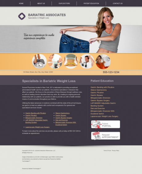 Bariatric Surgery Website Preview #7
