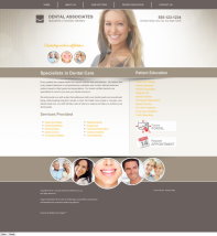 Cosmetic Dentistry Website Thumbnail #4