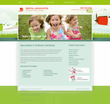Pediatric Dentistry Website Thumbnail #18