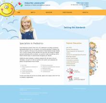 Pediatrics Website Thumbnail #6