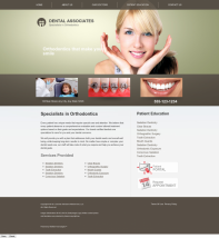 Orthodontics Website Thumbnail #5