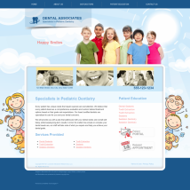 Pediatric Dentistry Website Thumbnail #4