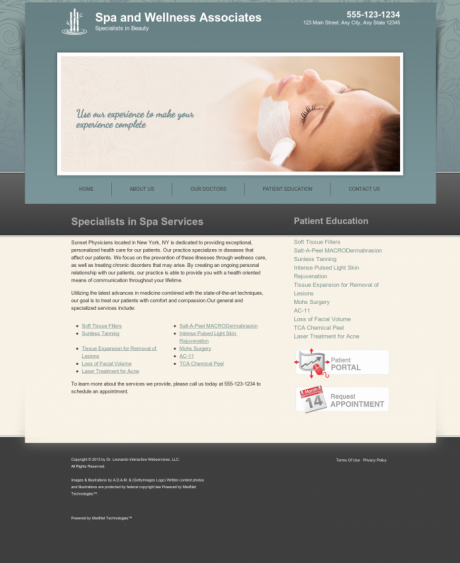 Dermatology Website Preview #5