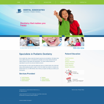 Pediatric Dentistry Website Thumbnail #5