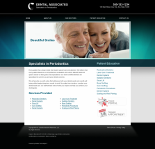 Periodontics Website Thumbnail #3