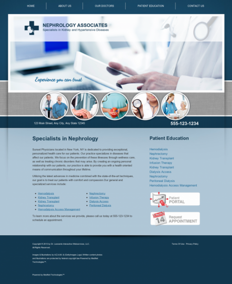 Nephrology Website Preview #8