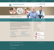 Otolaryngology Website Thumbnail #3