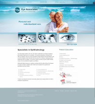 Ophthalmology Website Thumbnail #9