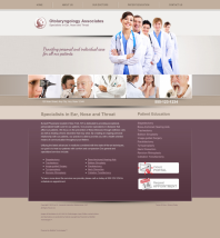 Otolaryngology Website Thumbnail #4