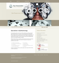 Ophthalmology Website Thumbnail #2