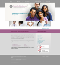 Family Medicine Website Thumbnail #3