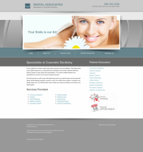 Cosmetic Dentistry Website Thumbnail #5