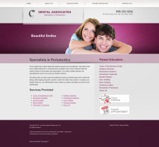 Periodontics Website Thumbnail #4