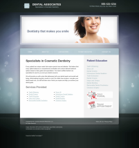 Cosmetic Dentistry Website Thumbnail #6