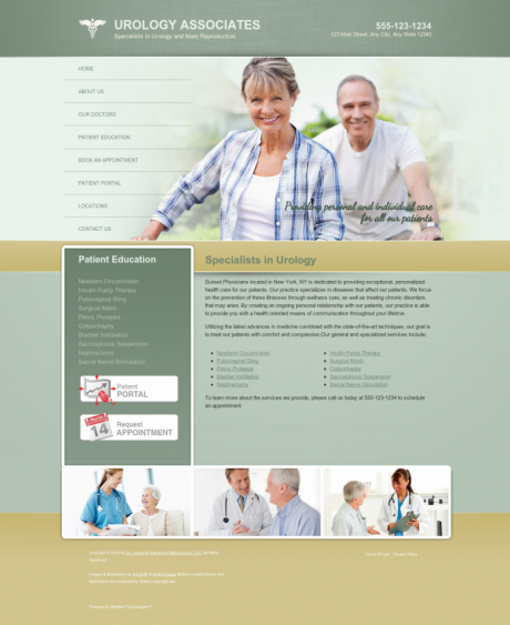 Urology Website Preview #10