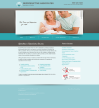 Reproductive Services Website Thumbnail #5