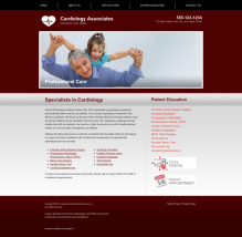 Cardiovascular Website Thumbnail #3