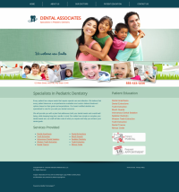 Pediatric Dentistry Website Thumbnail #1