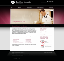 Cardiovascular Website Thumbnail #4