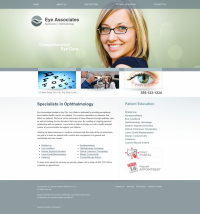 Ophthalmology Website Thumbnail #1