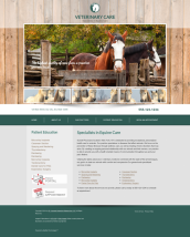 Equine Website Thumbnail #12