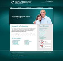 Periodontics Website Thumbnail #5