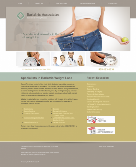 Bariatric Surgery Website Preview #9