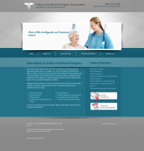 Colon & Rectal Surgery Website Thumbnail #4