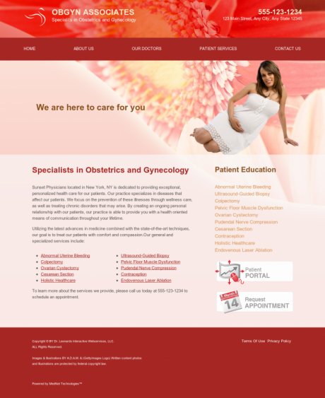 OBGYN Website Preview #7